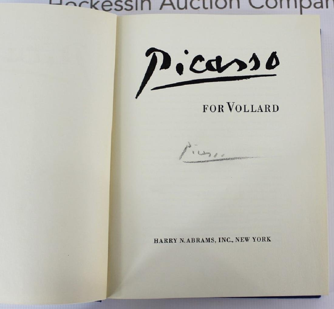 Book Signed by Pablo Picasso