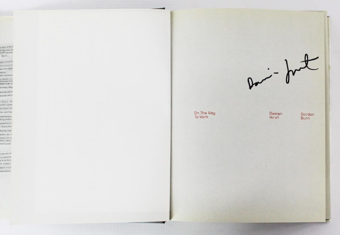Book Signed by Damien Hirst