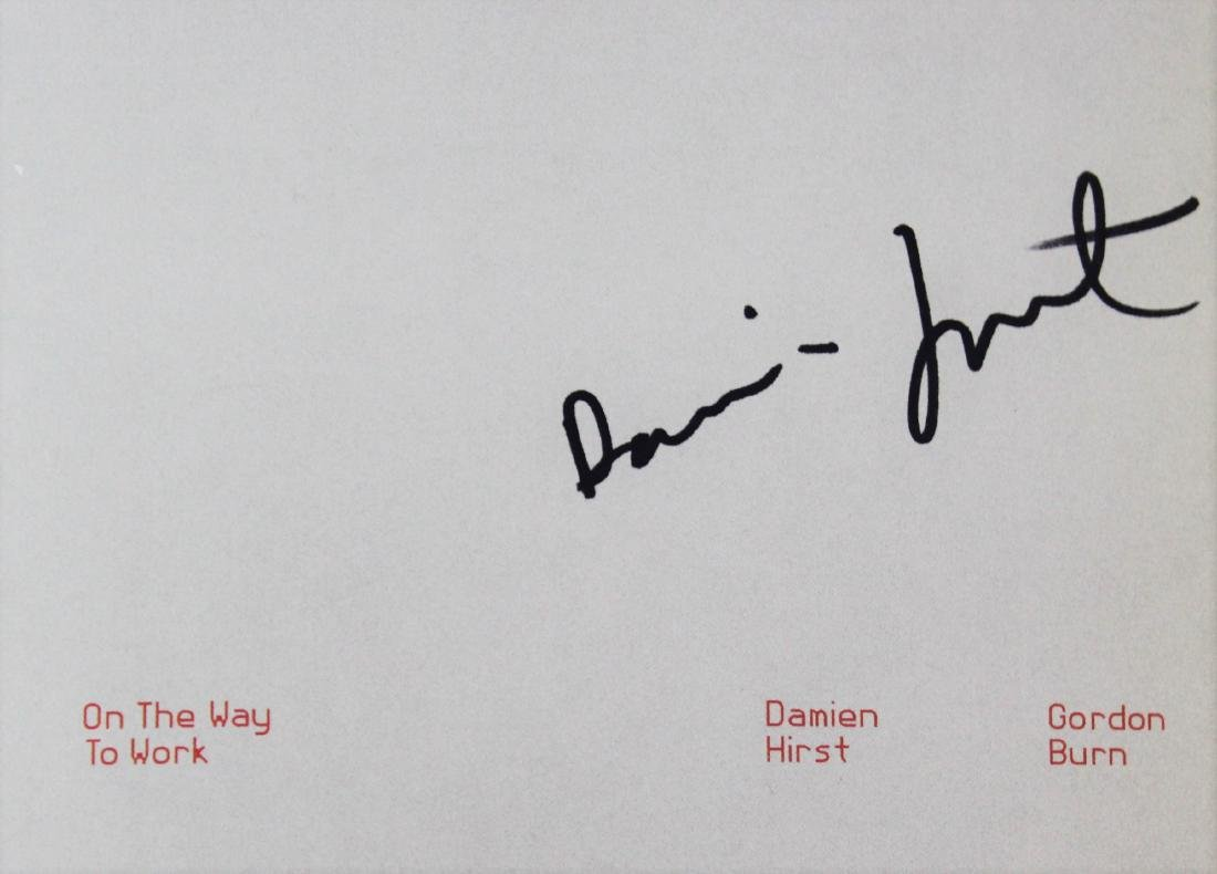 Book Signed by Damien Hirst - 2