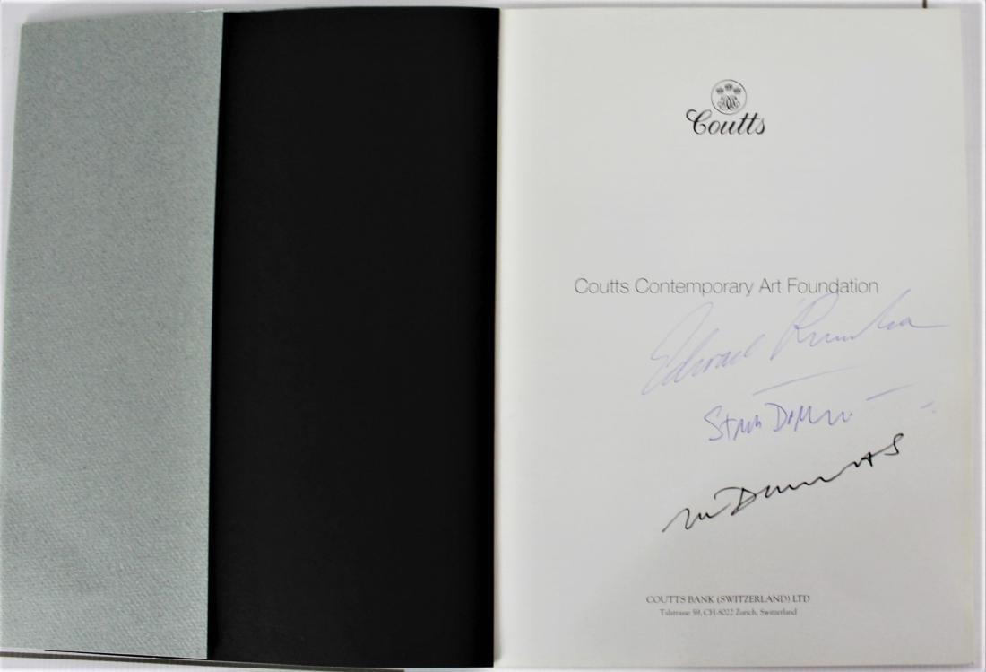 Book Signed by Edward Ruscha, Marlene Dumas, and Stan