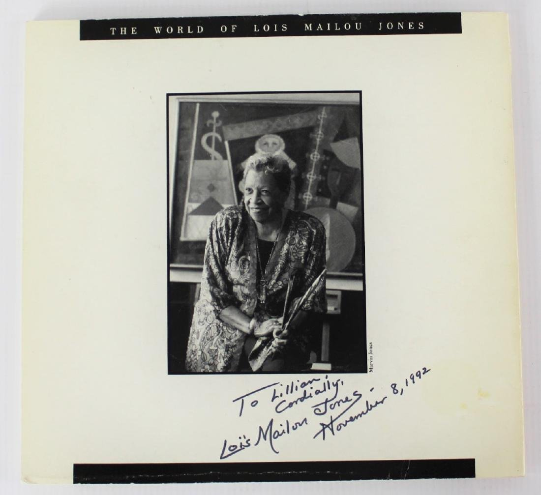 Book Signed by Lois Mailou