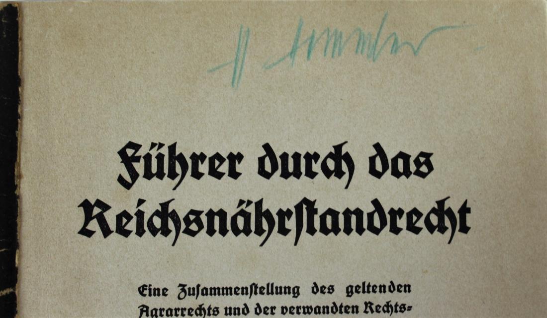 Book Signed by Heinrich Himmler