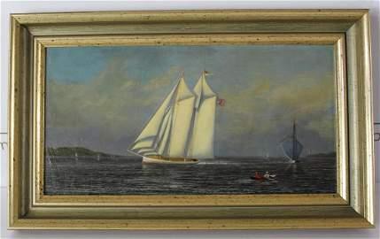 Francis Augustus Silva (American, 1835-1886)
