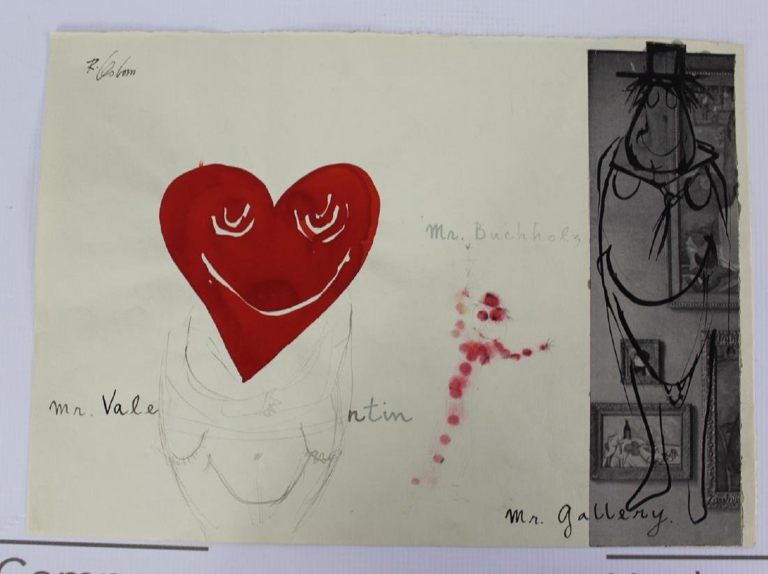 Robert Osborn Drawings Gifted to Curt Valentin - 8
