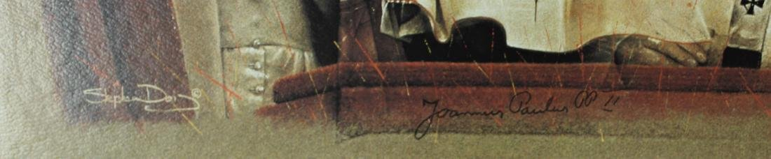 Print Signed by Pope John Paul ll - 3