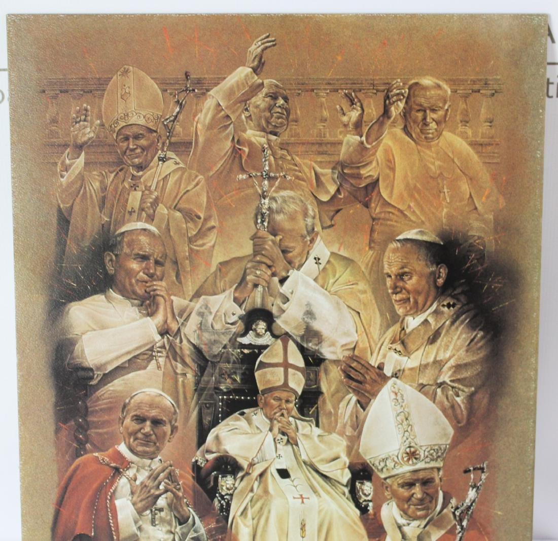 Print Signed by Pope John Paul ll - 4