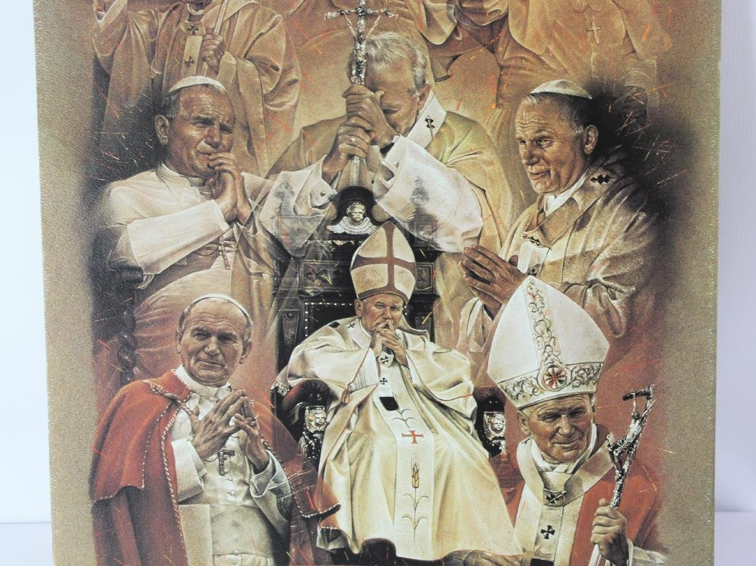 Print Signed by Pope John Paul ll - 5