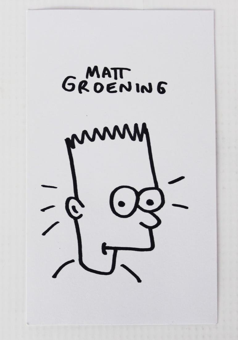 Matt Groening (American, b. 1954) - 2