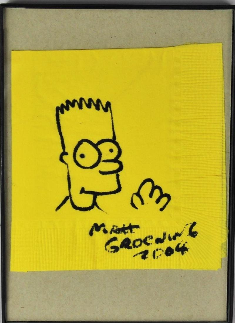 Matt Groening (American, b. 1954) - 3