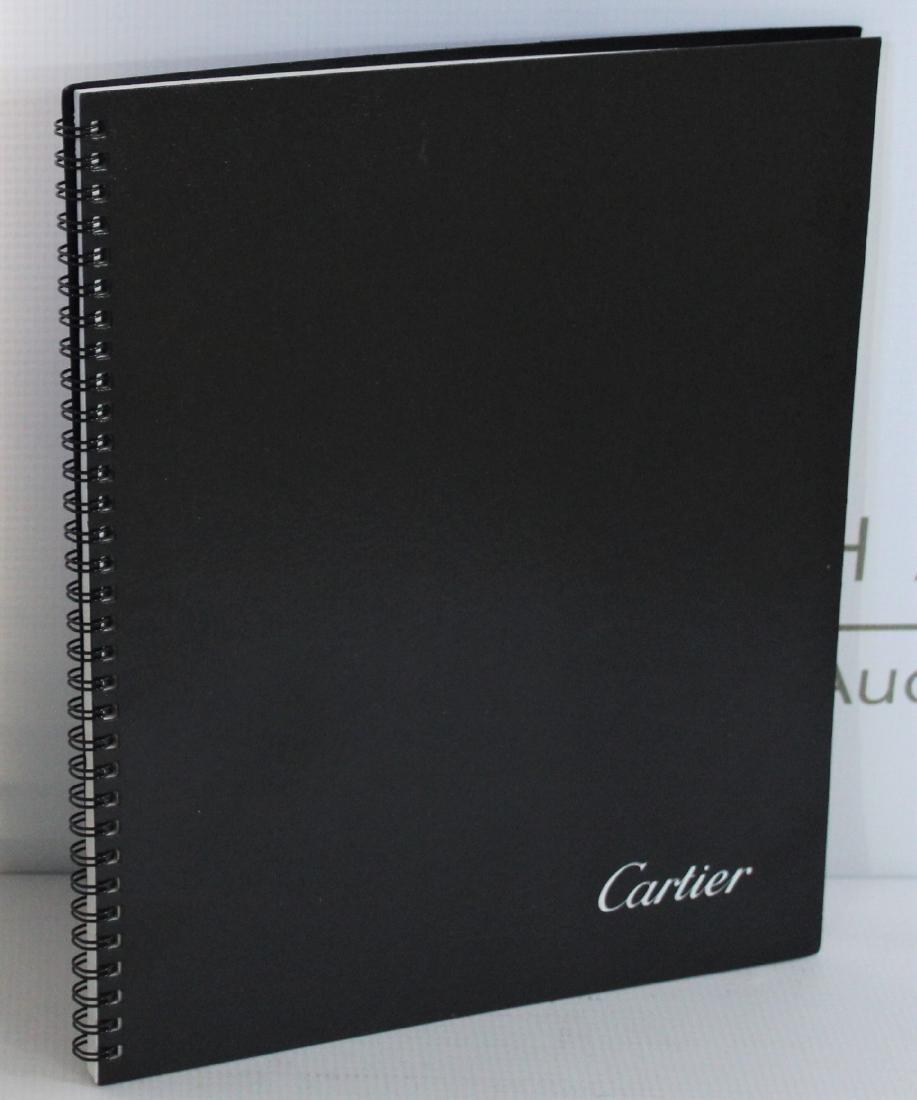 Cartier Notebook