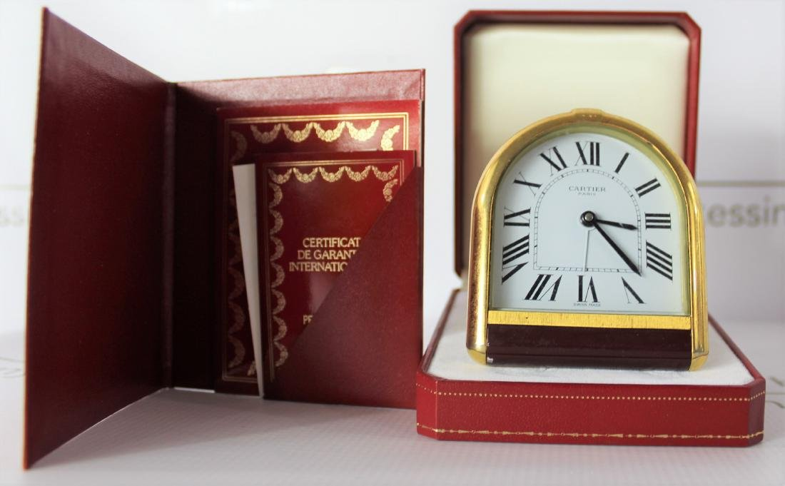 Cartier Desk Clock - 3