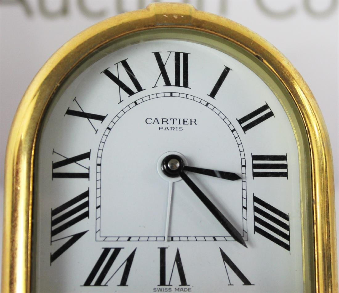 Cartier Desk Clock - 5