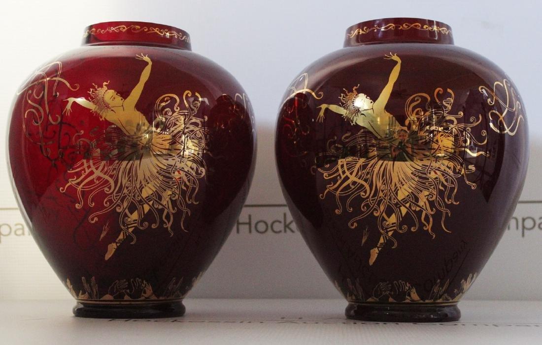 Erte Art Deco Vases - 3