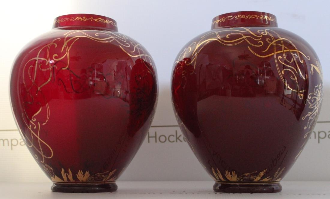 Erte Art Deco Vases - 4