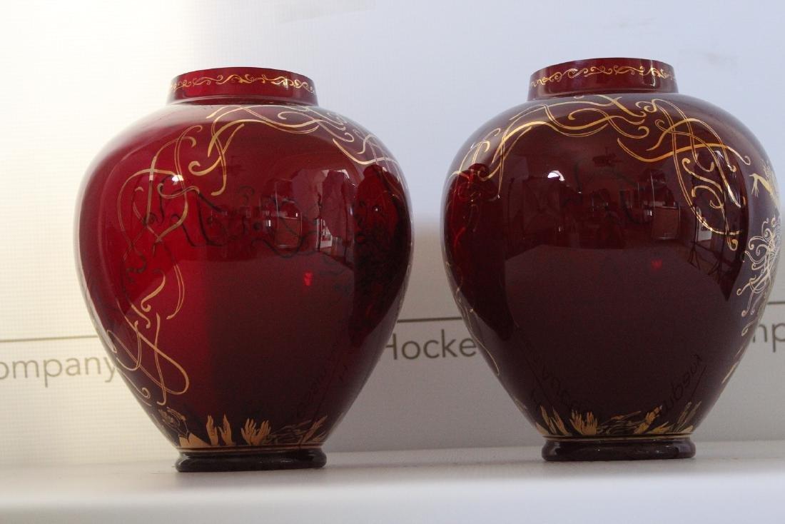 Erte Art Deco Vases - 5