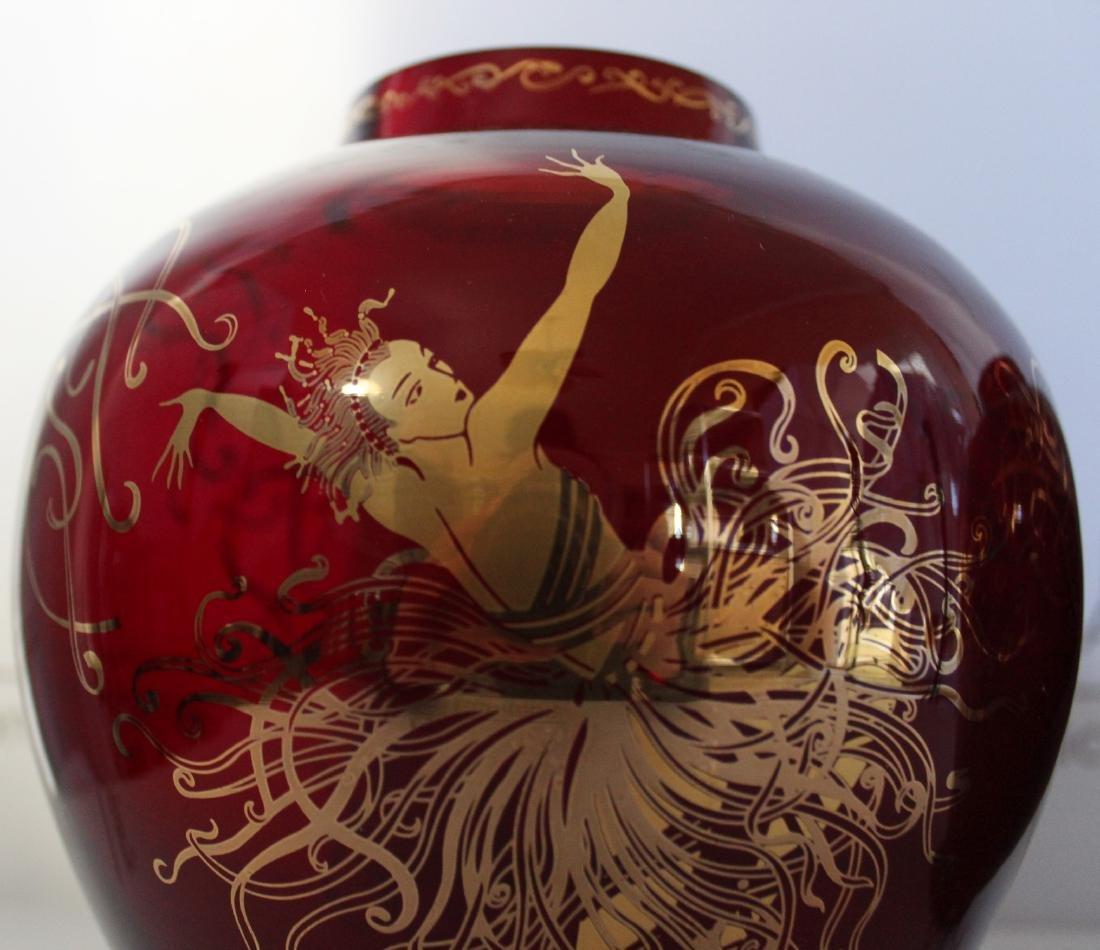 Erte Art Deco Vases - 8