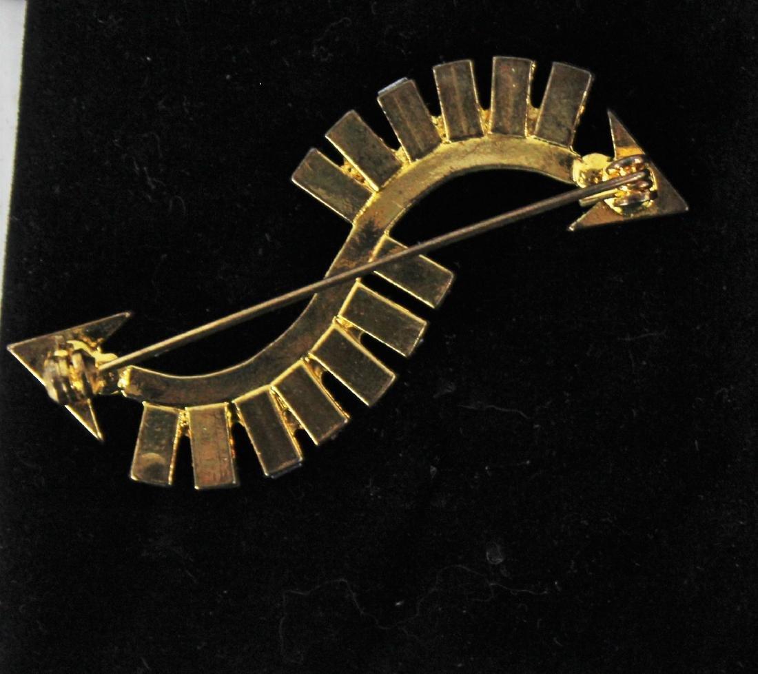 Brooch, Arrow Design - 2