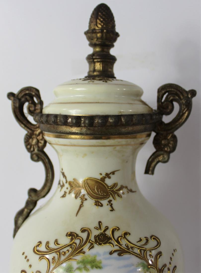 19th C. French Sevres Urn - 2