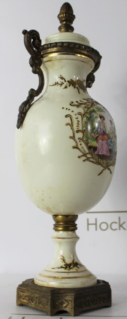 19th C. French Sevres Urn - 5