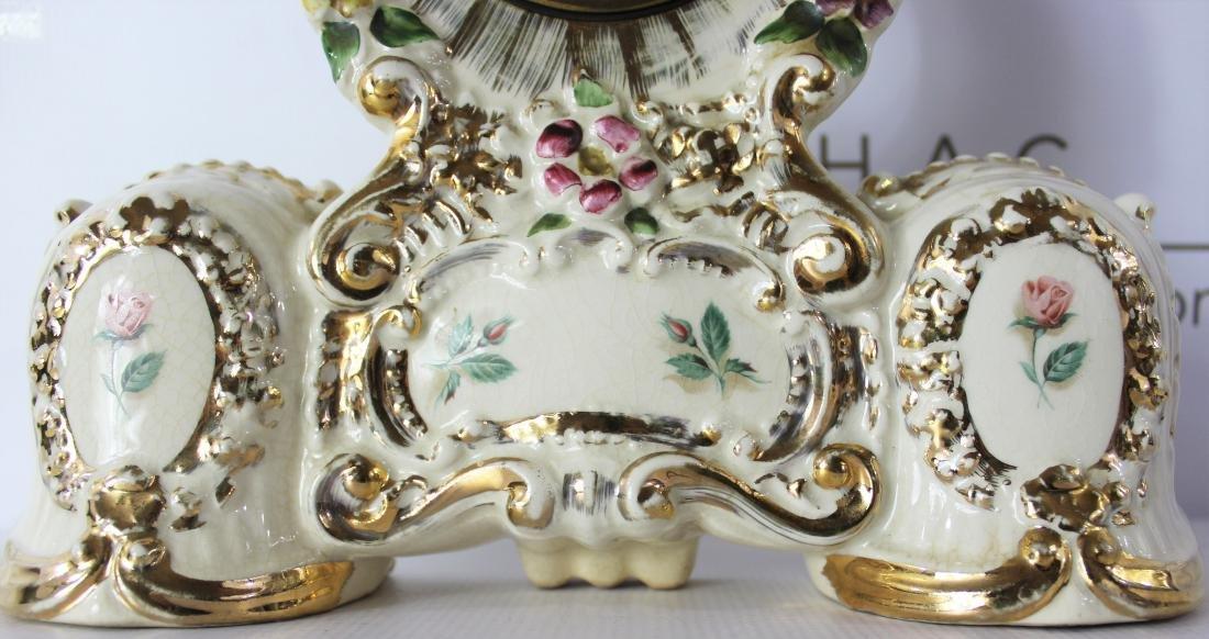 Antique Porcelain Clock Case - 2