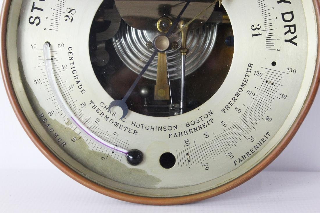 Boston Barometer, Chas C. Hutchinson - 3