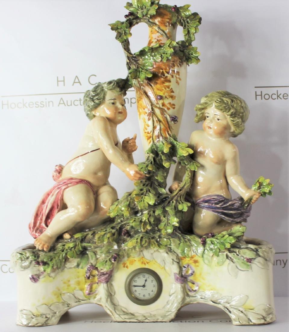 Italian Figural Clock