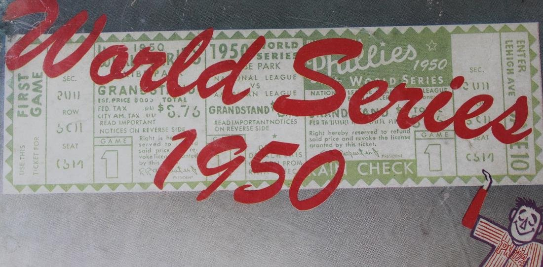 1950 World Series Game Program - 2