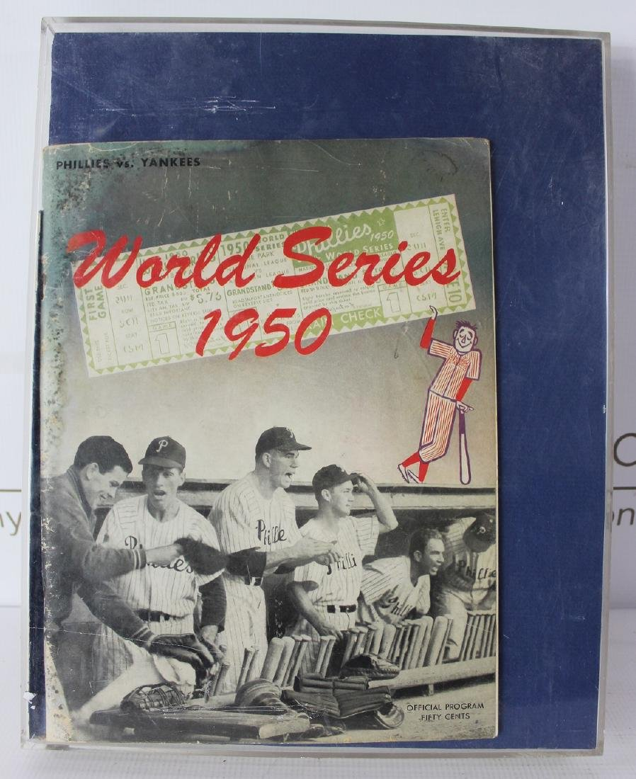 1950 World Series Game Program - 3