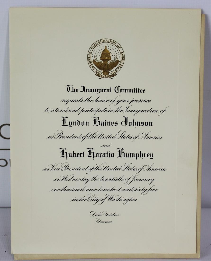 President John F. Kennedy Inauguration Invitation - 11