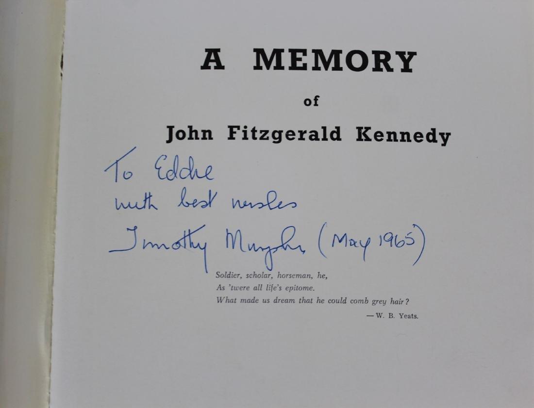 President John F. Kennedy Inauguration Invitation - 2