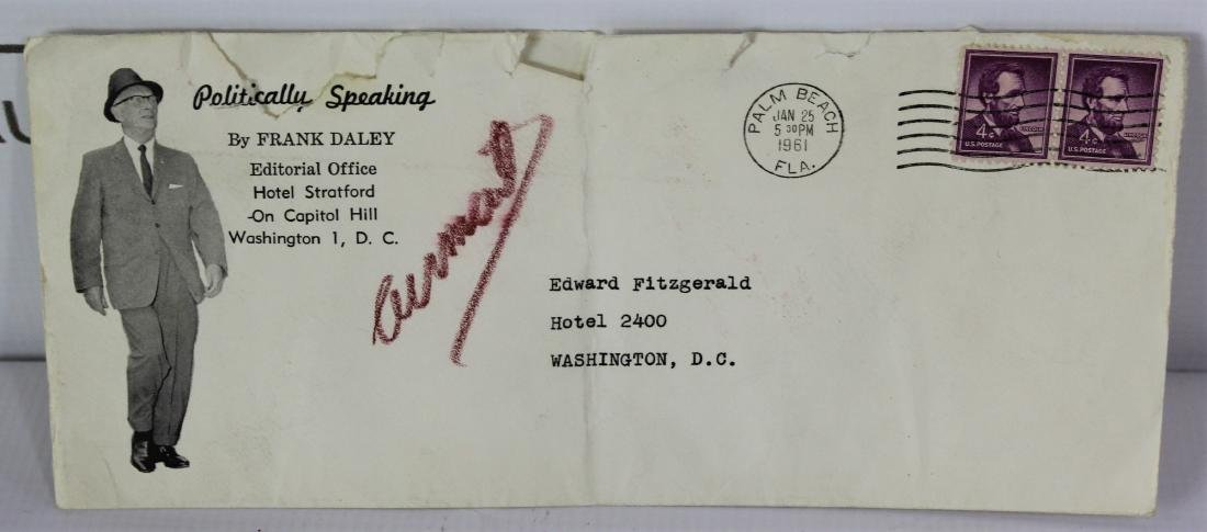 President John F. Kennedy Inauguration Invitation - 6