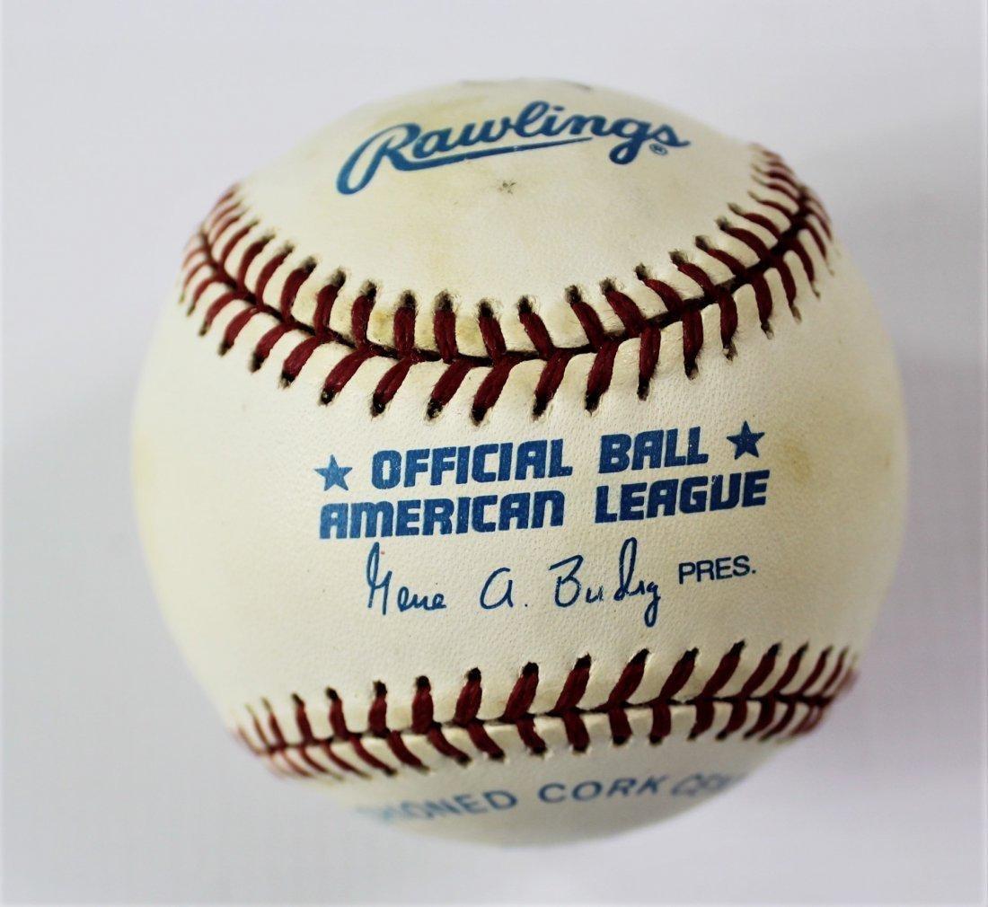 John Glenn Signed Baseball - 2