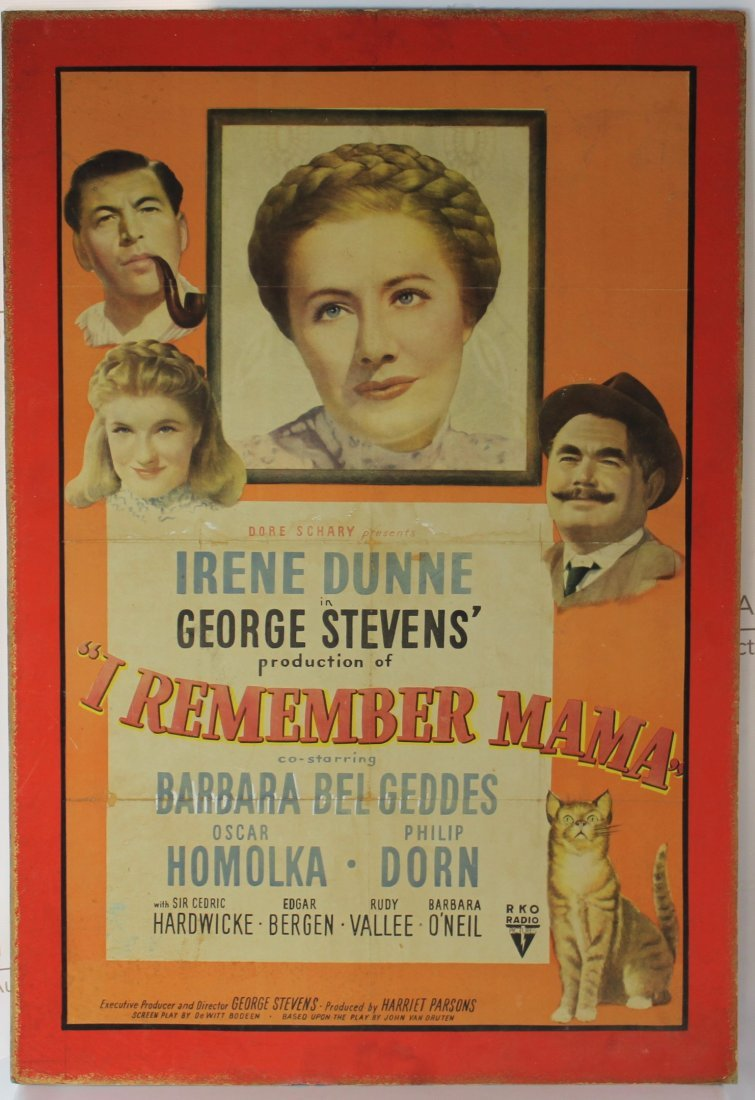 Original I Remember Mama Movie poster