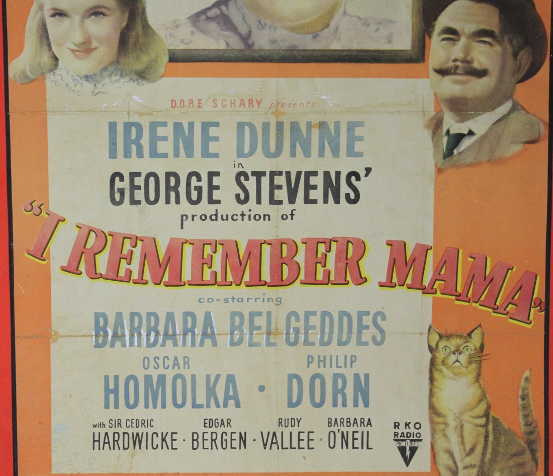 Original I Remember Mama Movie poster - 3