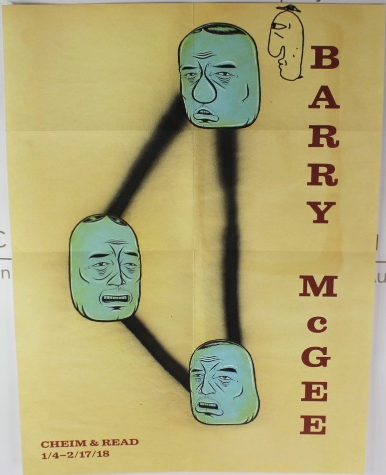 Barry McGee Poster