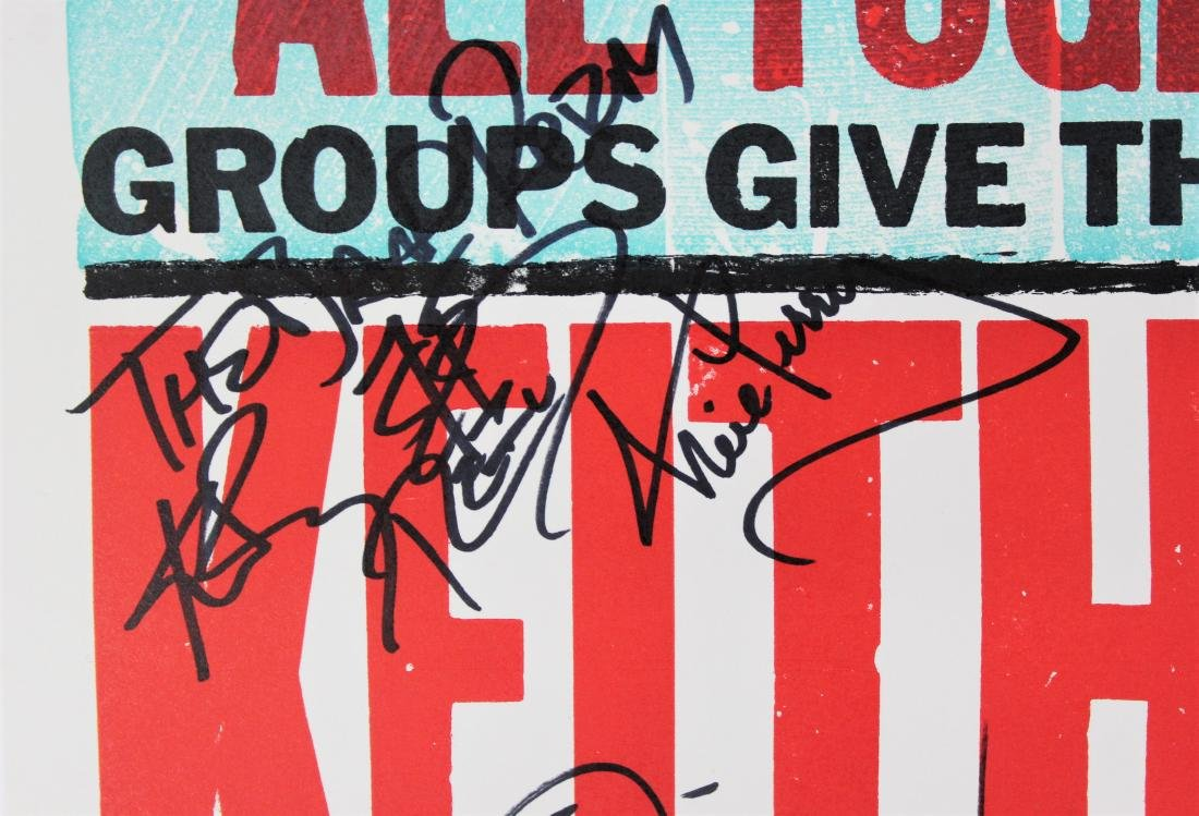 Country Singers Signed Poster - 7