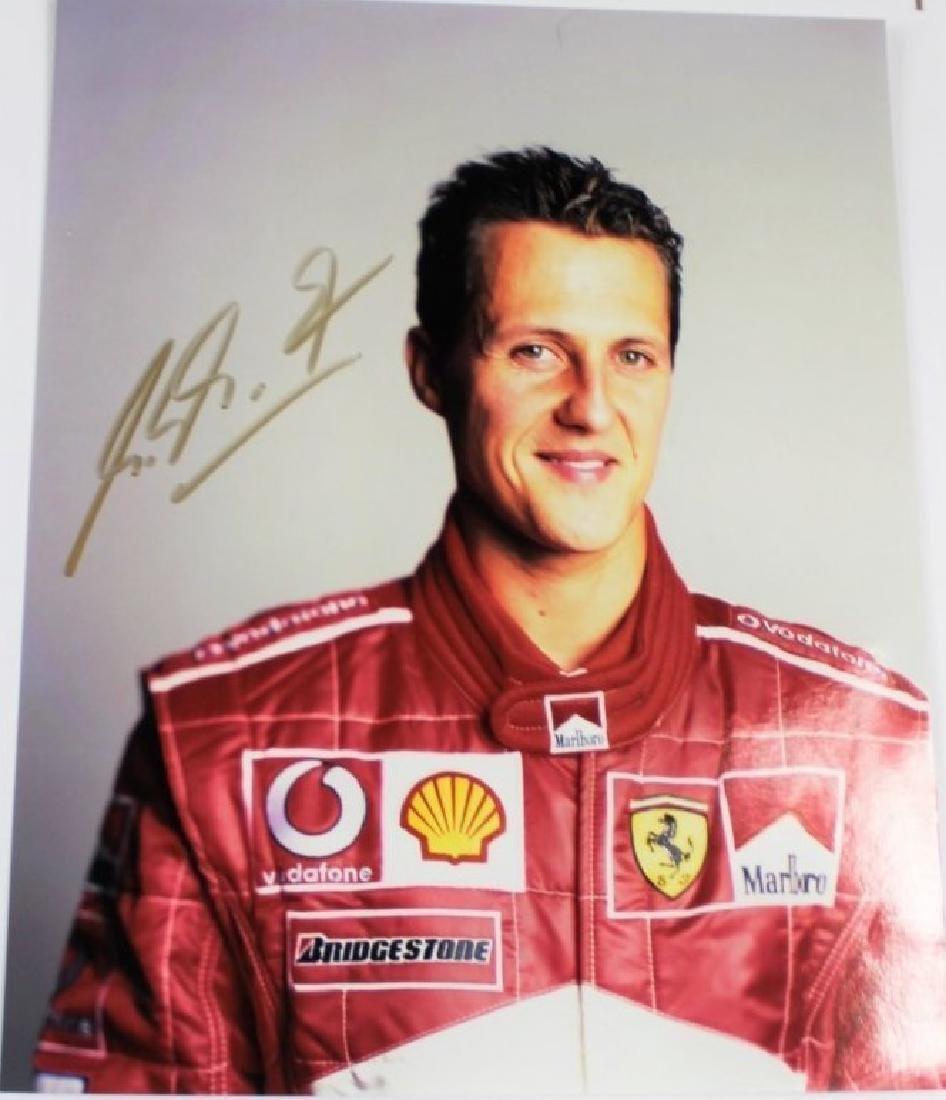 Michael Schumacher Signed Photograph