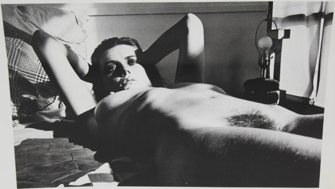 Helmut Newton Signed Photograph - 2