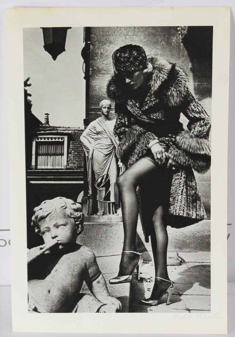 Helmut Newton Signed Photograph