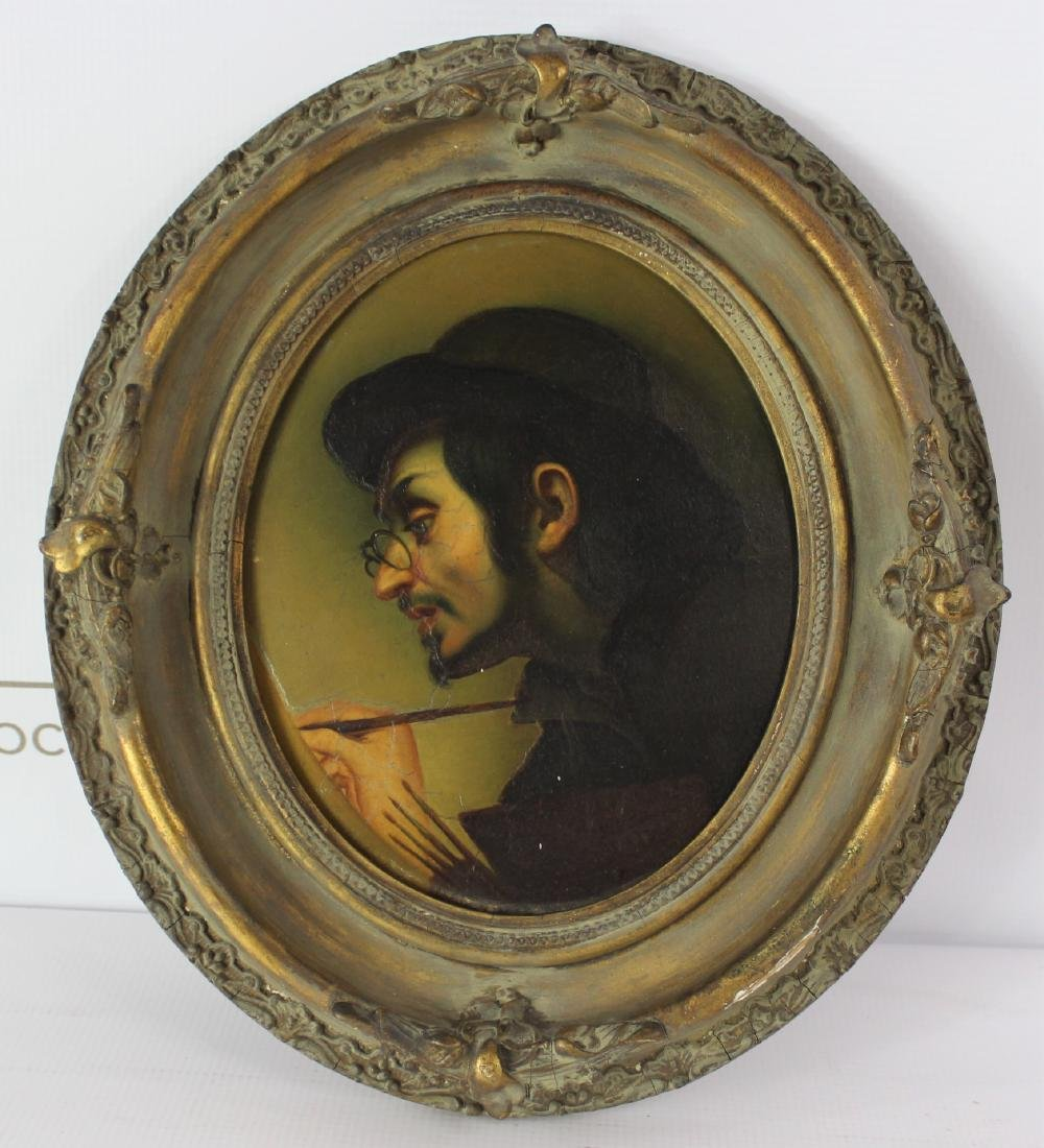 19th Century Painting of Artist Carlo Dolci