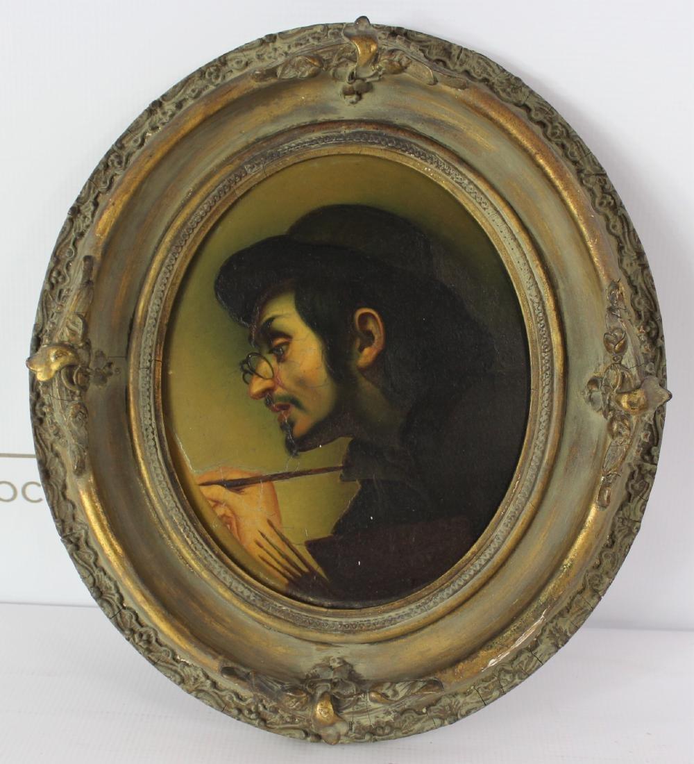 19th Century Painting of Artist Carlo Dolci