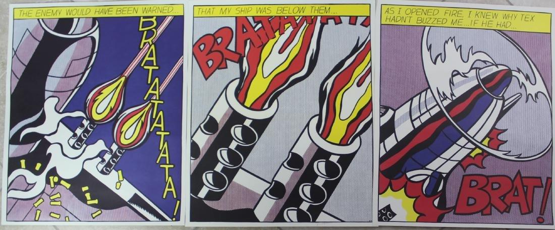 Roy Lichtenstein (American, 1923-1997) - 3