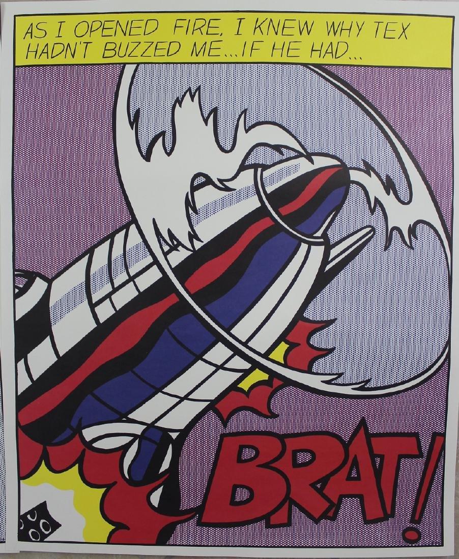 Roy Lichtenstein (American, 1923-1997) - 4