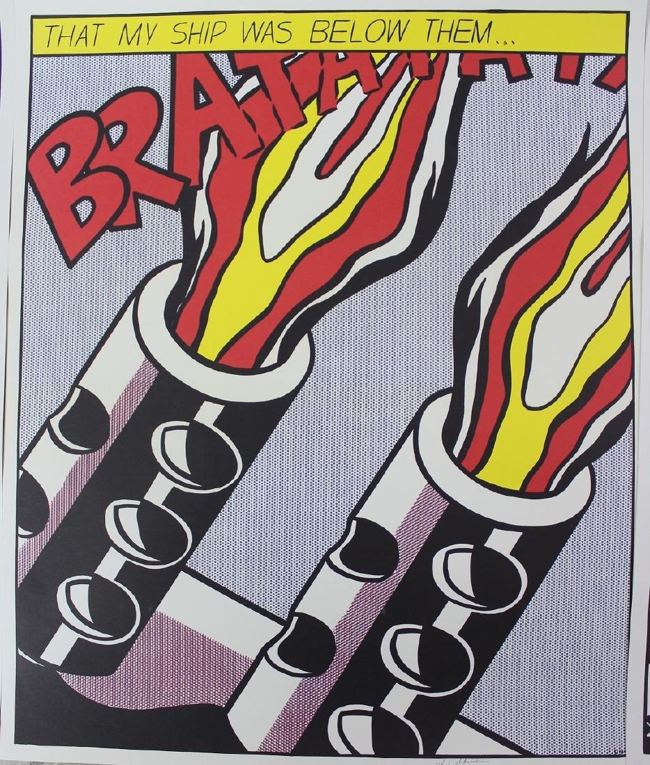 Roy Lichtenstein (American, 1923-1997) - 5