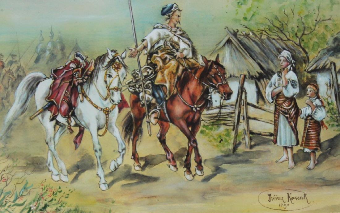 Julius Kossak (Polish, 1824-1899) - 2