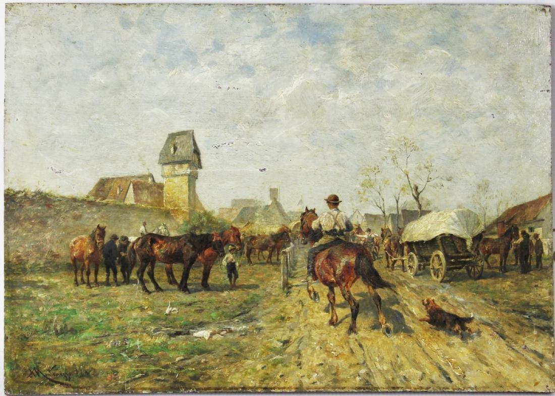 Antonio Montemezzo (German, 1841-1898) - 2