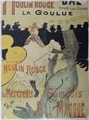 Henri de Toulouse-Lautrec, Moulin Rouge Advertisement