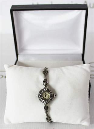 Hermes Swarovski Vintage Watch