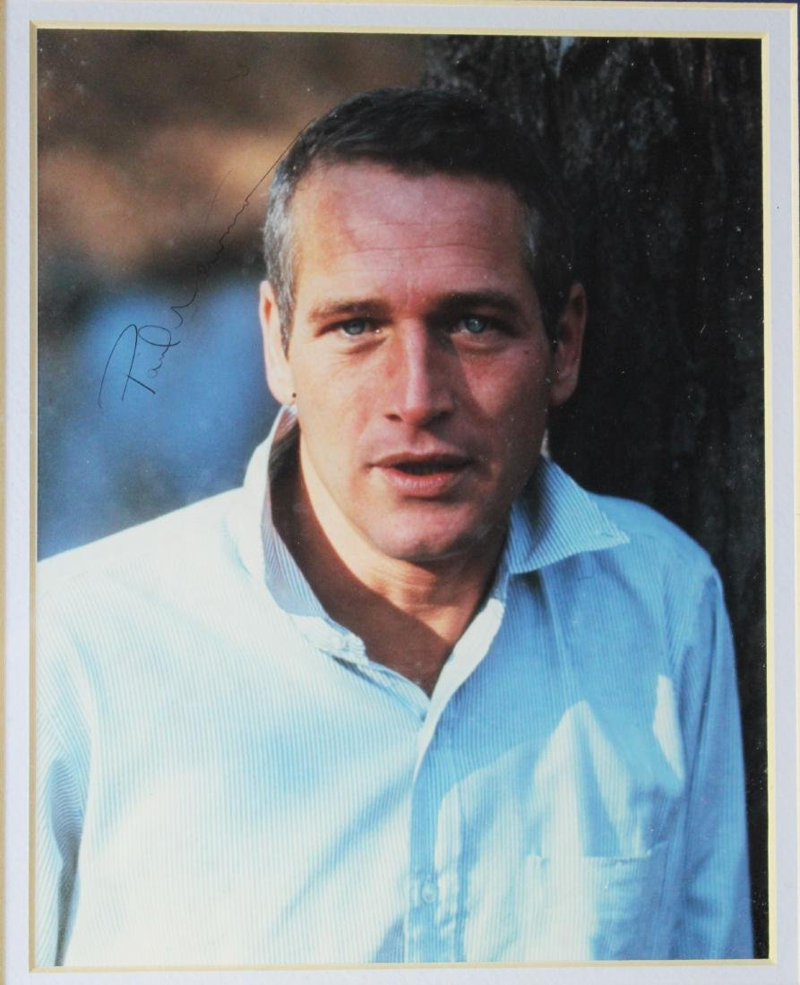 Paul Newman Signed Autograph