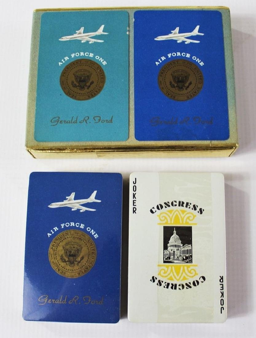 President Gerald R. Ford Air Force One Cards